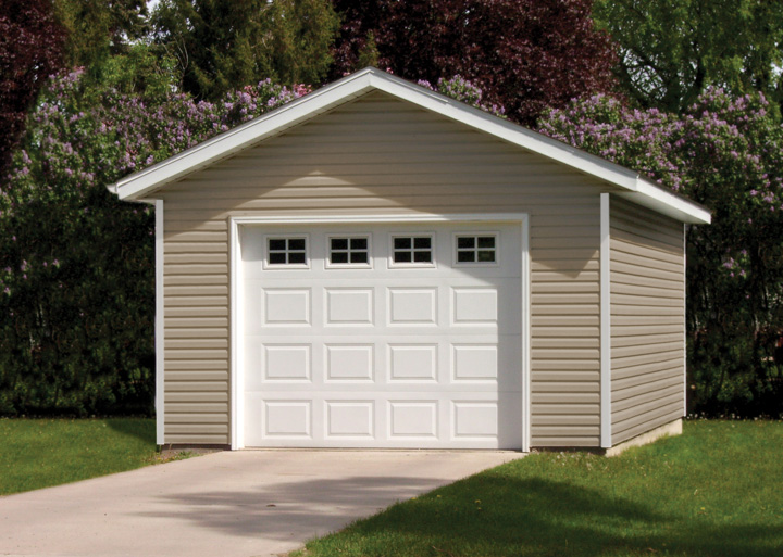 18x20 Garage Addition : Affordable garages built on your location