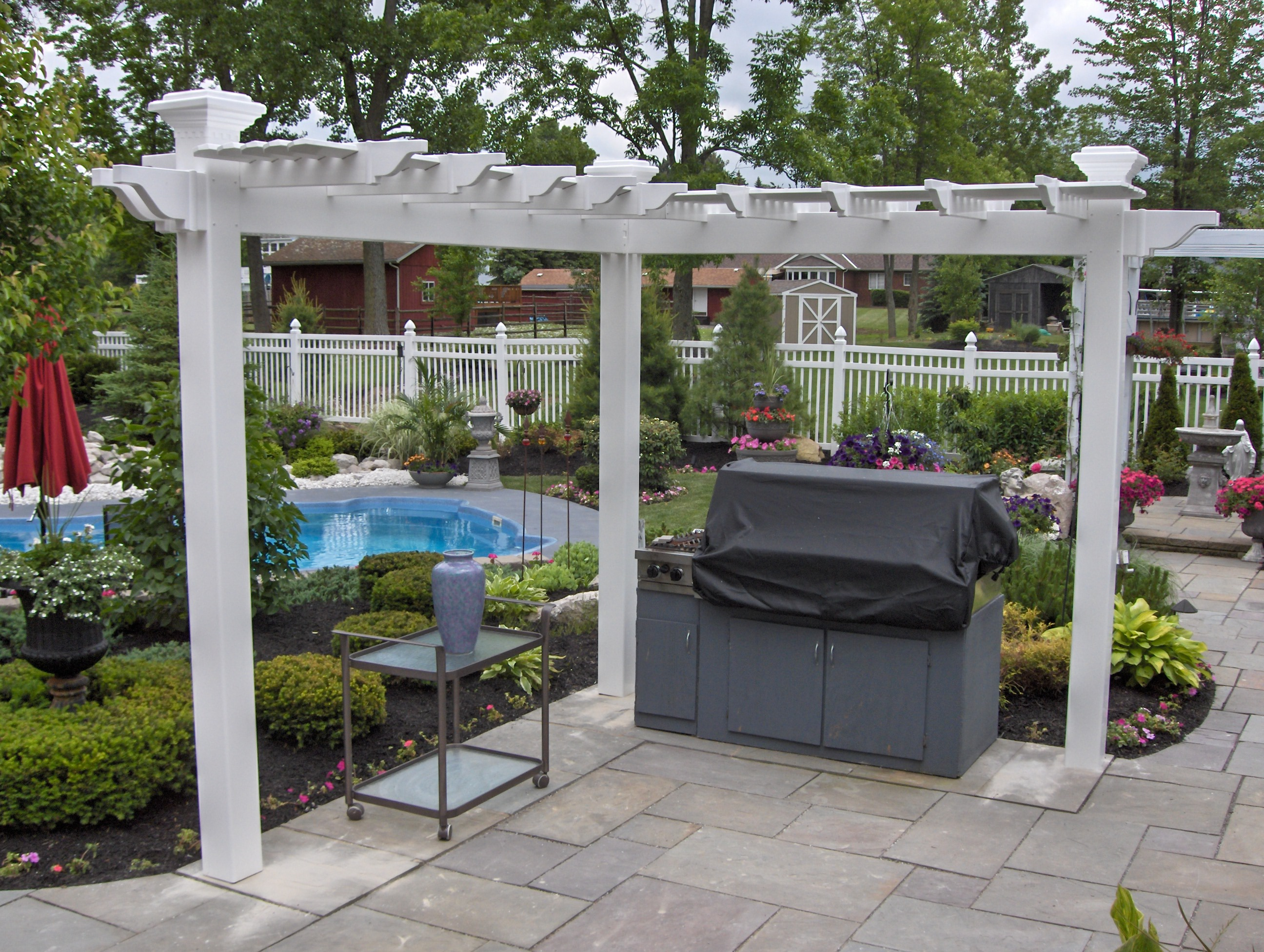 3 post pergola pictures to pin on pinterest pinsdaddy